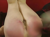Milf Spanks not daughters Bare Ass Red.