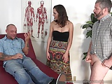Jade Nile Has Her Husband Suck Dick and Watch Her Get Fucked