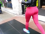 Fat Juicy Bouncy Latina Ass in Leggings!!!!