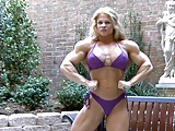 Fbb posing and flexing